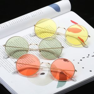 Women's Vintage Round Sunglasses