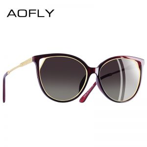 Women's Polarized Cat Eye Sunglasses
