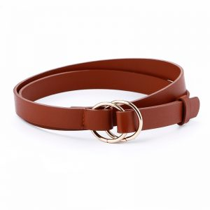 Women's Elegant Casual Thin Leather Belt