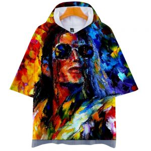 Michael Joseph Jackson singer short-sleeved hoodie Sweatshirt  summer