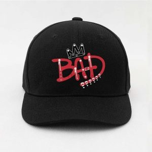 Michael Jackson Bad Caps Snapback Hats For Men And Women