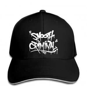 Michael Jackson Smooth Criminal Men Women Custom Sprayed Graffiti Baseball Cap Snapback